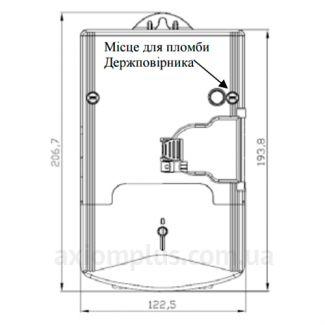 Габариты NIK 2104-02.20Т