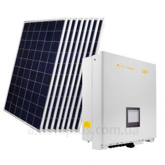 Солнечная электростанция на 20кВт из 73шт модулей 119,4м² с инвертором LogicPower OMNIK 20kW