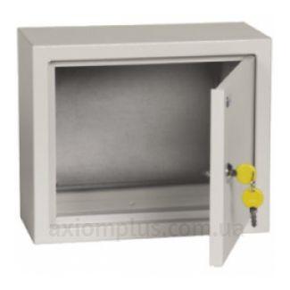 Фото серый монтажный бокс IEK ЩМП 2.3.1-0-36 габариты 250х300х150мм