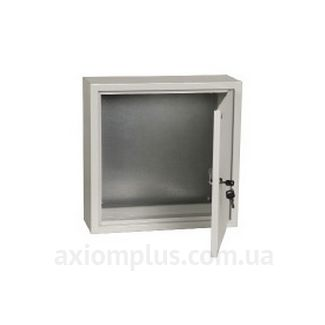 Фото серый монтажный бокс IEK ЩМП 4.4.2-0-36 размер 400х400х250мм