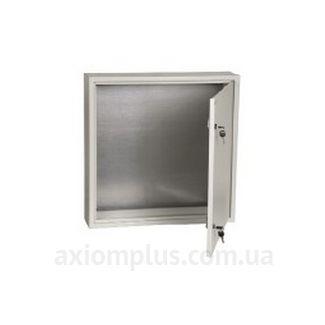 Фото серый монтажный шкаф IEK ЩМП 6.6.1-0-36 габариты 600х600х150мм