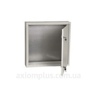 Фото серый монтажный шкаф IEK ЩМП 6.6.1-0-36 размер 600х600х150мм