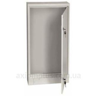 Фото серый монтажный шкаф IEK ЩМП 16.8.4-0-36 размер 1700х800х400мм