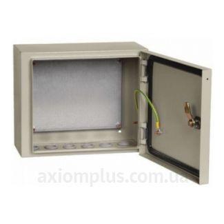Фото серый монтажный бокс IEK ЩМП 2.3.1-0-74 размер 250х300х150мм