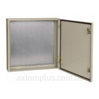 Фото серый монтажный шкаф IEK ЩМП 4.6.2-0-74 габариты 400х600х250мм
