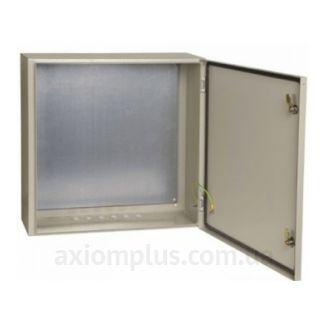 Фото серый монтажный шкаф IEK ЩМП 6.6.2-0-74 габариты 600х600х250мм
