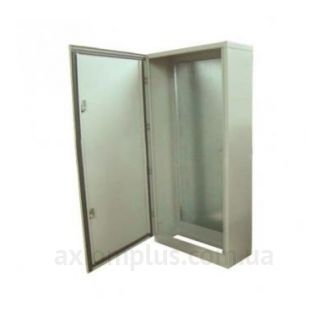 Фото серый монтажный шкаф Билмакс БМН 120У габариты 1200х600х250мм