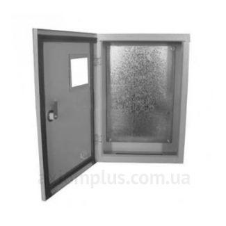 Фото серый монтажный шкаф Билмакс БМ 50 габариты 500х350х220мм