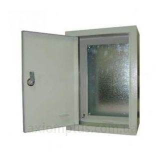 Фото серый монтажный шкаф Билмакс БМ 50C габариты 500х350х220мм