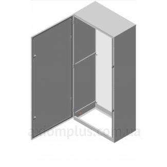 Фото серый монтажный шкаф Билмакс BF 8.12.3 габариты 1200х800х300мм