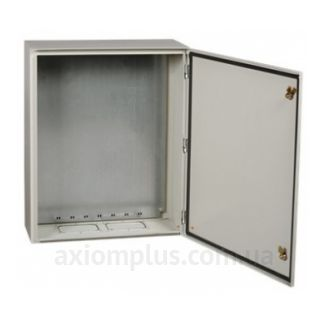 Фото серый монтажный бокс IEK ЩМП PRO 1-2-74 габариты 395х310х220мм