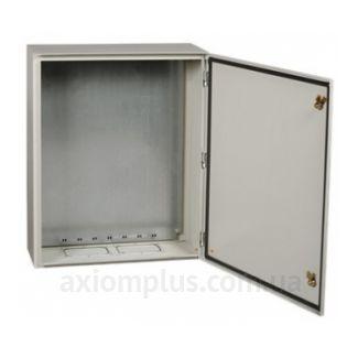 Фото серый монтажный шкаф IEK ЩМП PRO 3-2-74 размер 650х500х220мм