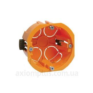 Красный подрозетник IEK КМ40022