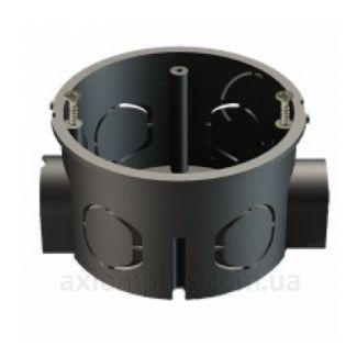 Черный подрозетник IEK КМ40002