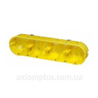 Желтый подрозетник Elektro-Plast РК-4х60