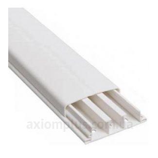 Напольный кабель канал 80х20 белого цвета фото