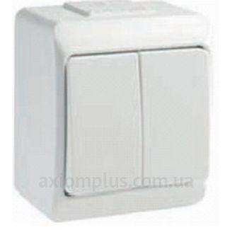 Изображение IEK серии Hermes ВС20-2-0-ГБ белого цвета