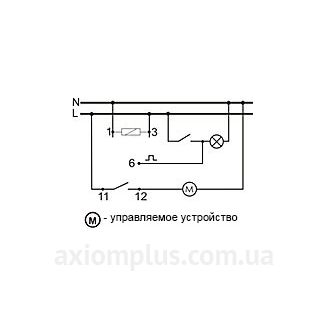 схема подключения реле времени РЧ-415 220В
