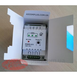 реле контроля фаз в упаковке РНПП-311 фото