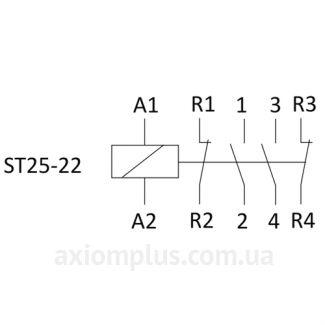 Схема ST25-22