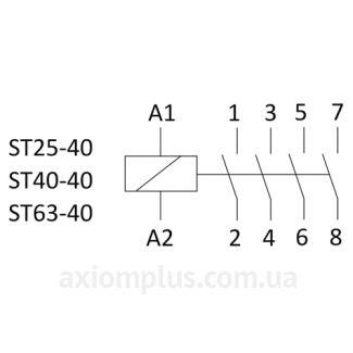 Схема ST25-4024