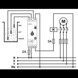 Реле контроля уровня жидкости SSR-05 Tense