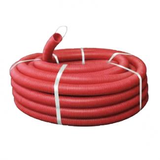 Труба DKC Ø90мм (красного цвета) (121990N-sale)