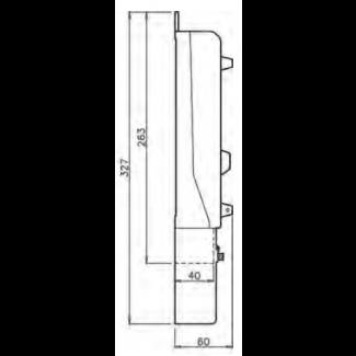 Вид сбоку ITZ-S1DV-00