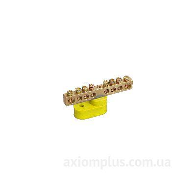 Шина (PE) ШНИ-6х9-16-У1-Ж 100А (16 контактов контактов) (желтый цвет) фото