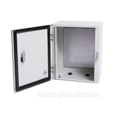 Фото серый монтажный бокс Билмакс БМ 46+П размер 400х300х250мм