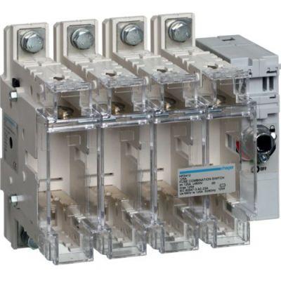 Разрывной 4P выключатель нагрузки 0-1 на 125А Hager HFD412