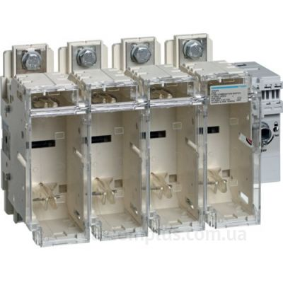 Разрывной 4P выключатель нагрузки 0-1 на 250А Hager HFD425