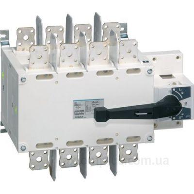 Корпусный перекидной 4P рубильник 1-0-2 на 1000А Hager HI461