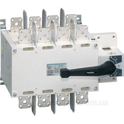 Корпусный перекидной 4P рубильник 1-0-2 на 1250А Hager HI462