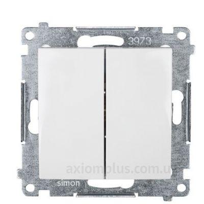 Изображение Kontakt Simon серии Simon 54 Premium DW5.01/11 белого цвета