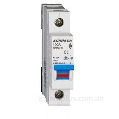 Модульный разрывной 1P выключатель нагрузки 0-1 на 100А Schrack Technik AZ200201--