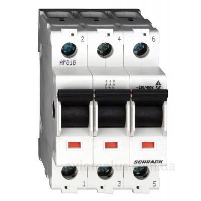 Модульный разрывной 3P выключатель нагрузки 0-1 на 100А Schrack Technik BZ900203--