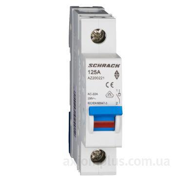 Модульный разрывной 1P выключатель нагрузки 0-1 на 125А Schrack Technik AZ200221--