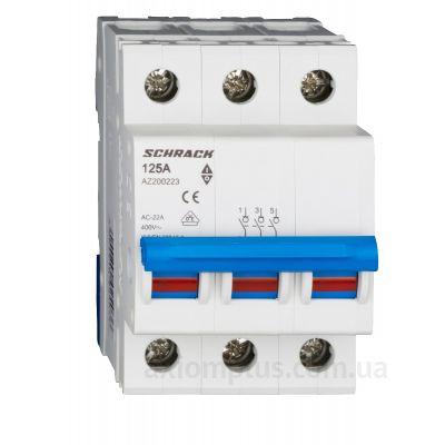 Модульный разрывной 3P выключатель нагрузки 0-1 на 125А Schrack Technik AZ200223--