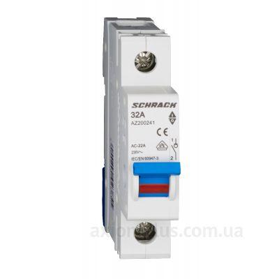 Модульный разрывной 1P выключатель нагрузки 0-1 на 32А Schrack Technik AZ200241--