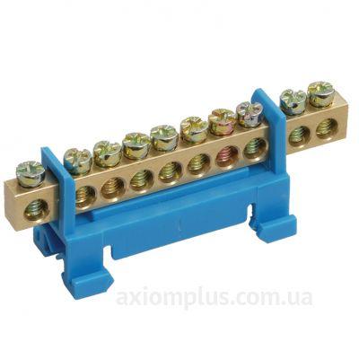 Шина (N) ШНИ-6х9- 8-С-C 100А (8 контактов контактов) (синий цвет) фото
