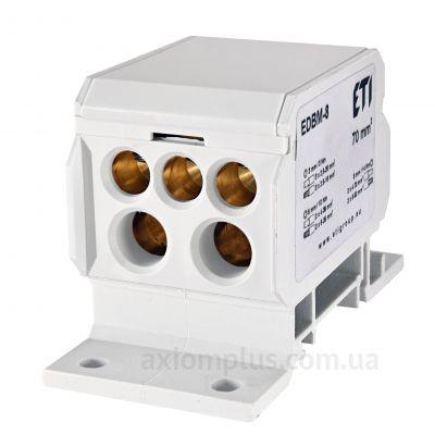 EDBM-8 ETI белого цвета (на 7 контактов) (S <sub>провода</sub> до 70мм²)