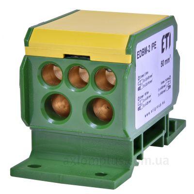 EDBM-2/PE ETI желто-зеленого цвета (на 7 контактов) (сечение до 70мм²) , I<sub>n</sub>=192А