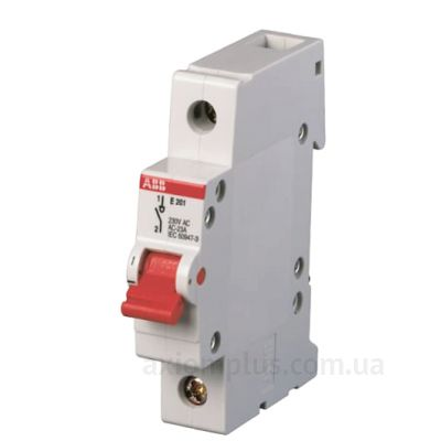 Модульный разрывной 1P выключатель нагрузки 0-1 на 80А ABB 2CDE281001R0080