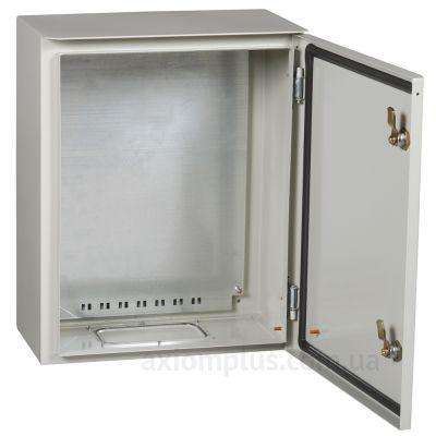 Фото серый монтажный бокс IEK ЩМП PRO 1-2-74 размер 395х310х220мм