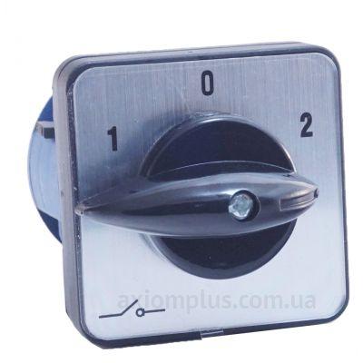 Кулачковый 3P поворотный переключатель 1-0-2 на 10А IEK BCS13-010-2