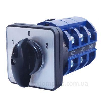 Кулачковый 3P поворотный переключатель 1-0-2 на 63А IEK BCS13-063-2