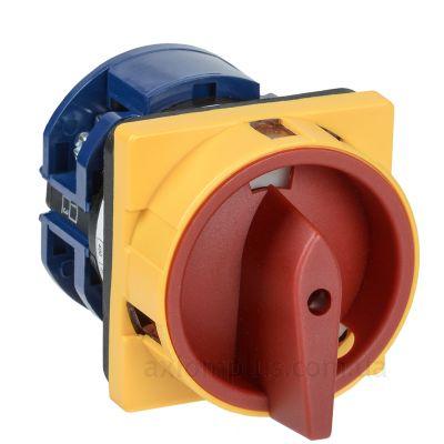 Кулачковый 3P поворотный переключатель 1-0-2 на 63А IEK BCS23-063-2