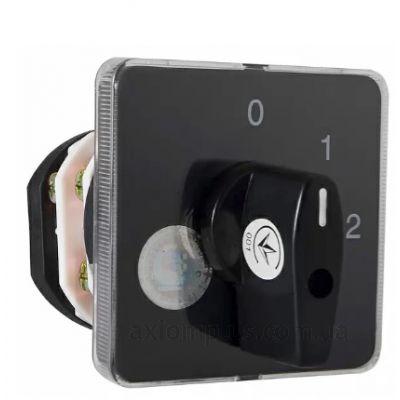 Кулачковый 1P поворотный переключатель 1-0-2 на 40А Аско-Укрем A0110010018