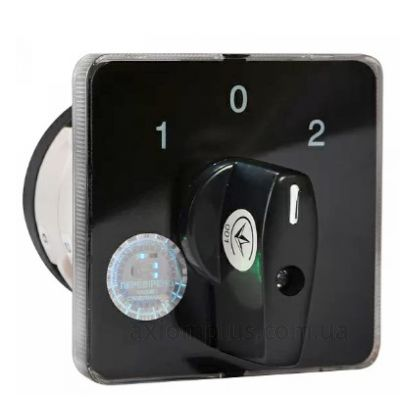 Кулачковый 2P поворотный переключатель 1-0-2 на 40А Аско-Укрем A0110010020